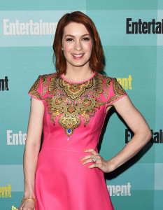 Felicia Day Entertainment Weekly ComicCon Party (2)